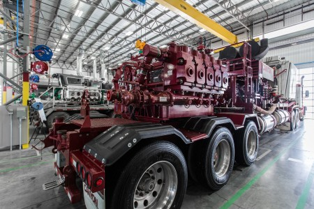 Weir SPM QEM 3000 frac pump (pictured) has impressed a Canadian upstream oil company