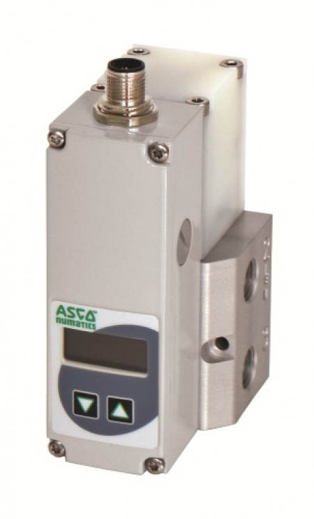 Asco Numatics' new 617 Series electronic pressure regulator is a good fit for food and beverage industries among others