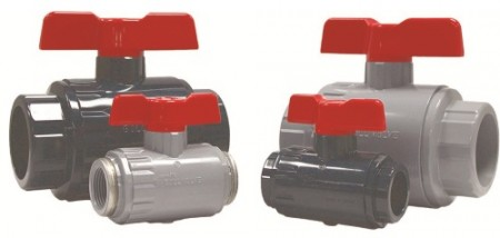 Asahi/America Omni Type-27 ball valves are suitable for a great variety of applications