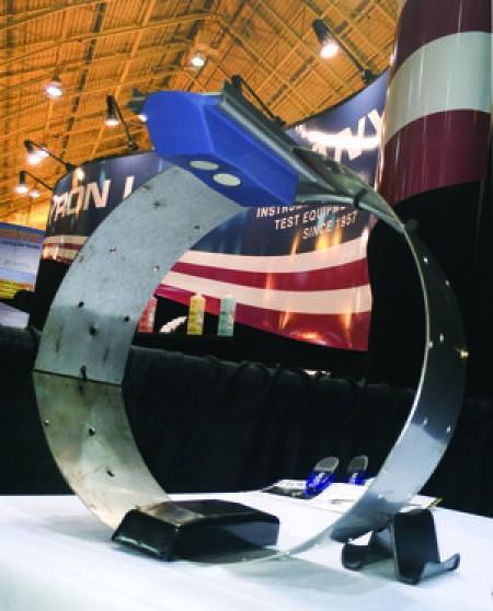 MassaSonic FlatPack sensor mounted