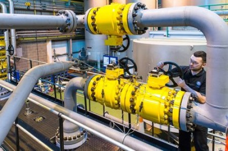 NEL's newly upgraded wet gas flow facility