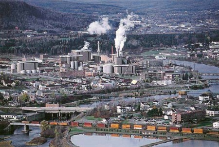 The former pulp and paper mill makes way for biomass power