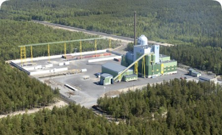 Energy firms Pohjolan Voima and Lappeenrannan Energia own and operate the facility