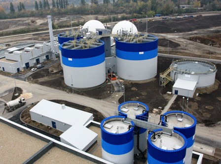 Involved: ENER-G switched on the €0.5 billion wastewater treatment plant in Budapest