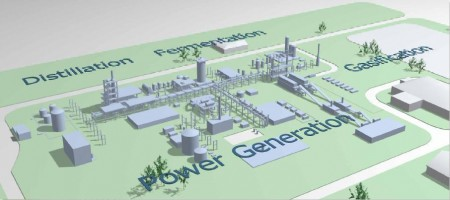The Ineos bioenergy facility will produce green power and bioethanol