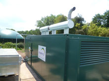 The poultry project will include a biogas generator from Ener-G