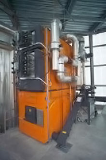 Imperative Energy will use the investment money to help install equipment like this into biomass plants