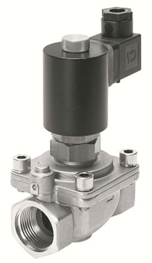 Control high pressures with large nominal diameters: the valve series VZWF