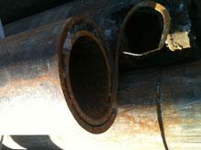 "The CenJet 90 system fits inside 2"" diameter pipe"