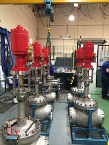 It is essential that cryogenic valves set to be installed on LNG carriers are truly fire-safe