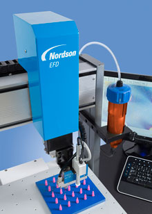 Nordson EFD's new systems are designed with state-of-the-art technology to make for faster, more efficient fluid dispensing