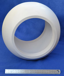 Morgan Advanced Materials has the capability to manufacture balls up to DN250 in diameter