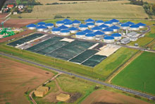 The Könnern biogas park in Germany, one of the largest of its kind, has been purchased by Weltec