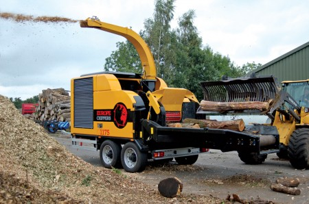 Large wood chipper Europe Chippers copyright Stegeren