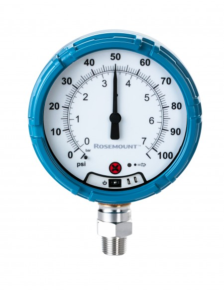 Emerson Rosemount pressure gauge reduces costs and manual labour in addition to increasing safety
