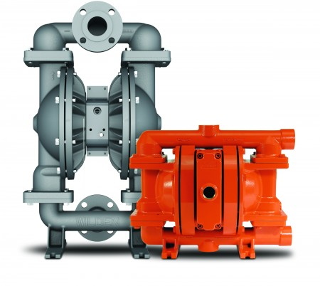 New Wilden gas-operated double diaphragm for oil and gas industries