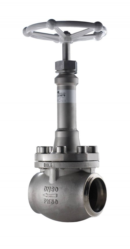 A typical Bestobell valve delivered to the Korean installations