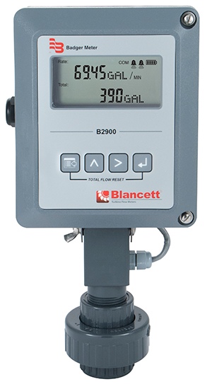 Blancett B2900 industrial flow monitors are suitable for a variety of critical flow measurement applications