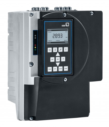 KSB has introduced new features to its PumpDrive system especially for wastewater application