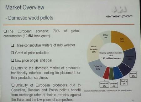Presentation slide from Enerpar's CEO Joao Rocha Paris