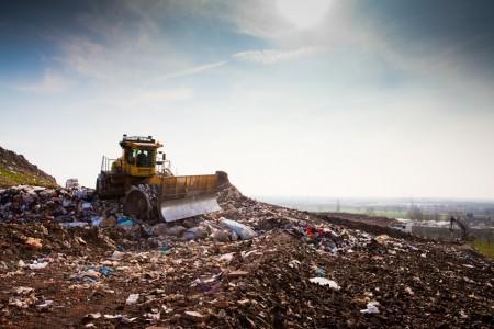 Landfill site ©SUEZ ENVIRONNEMENT ABACAPRESS George BLONSKY 3