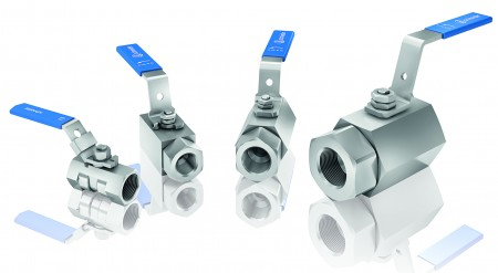 The new KB and KC ball valve series by AS-Schneider withstand high pressures and a great temperature range