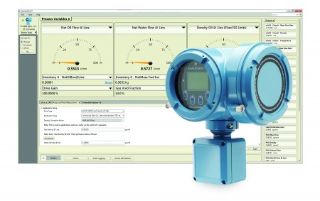 Advanced Phase Measurement software for the Micro Motion Model 5700 Transmitter is designed to reduce process upsets in challenging applications
