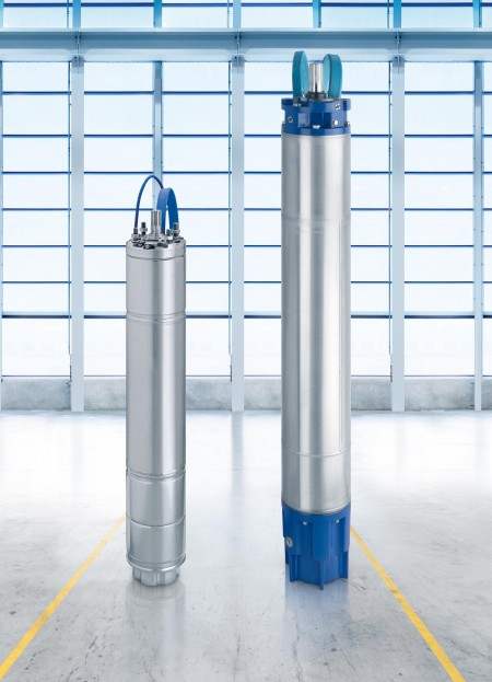 The design of KSB's new borehole pumps ensures long service life