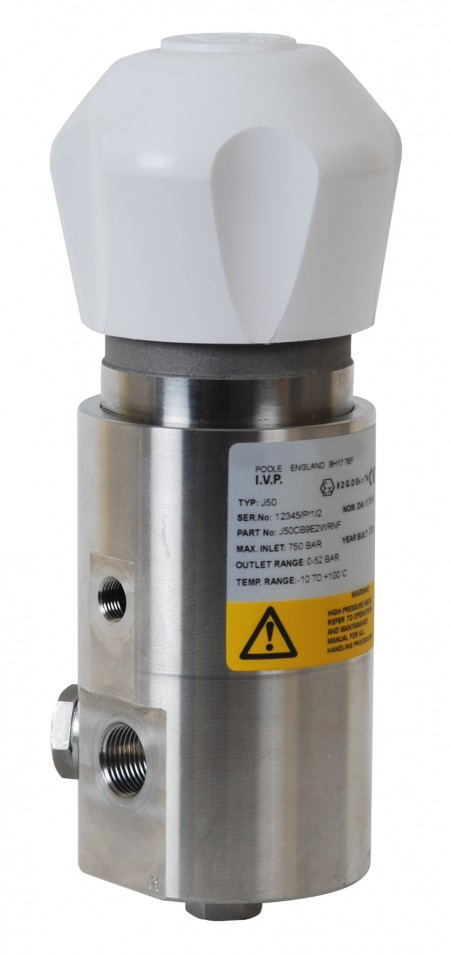 IMI Precision Engineering's new J50 pressure regulator is capable of operating in very low temperatures