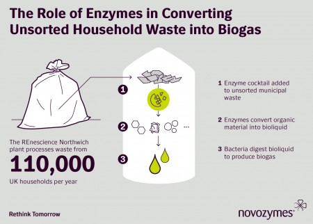 Novozymes - the role of enzymes in converting unsorted household waste into biogas
