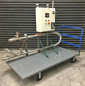 Ross SysCon's portable pumping skid