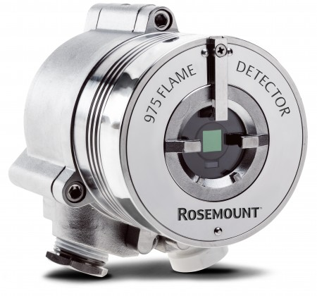 Emerson's Rosemount 975 flame detectors work in both snow and heat