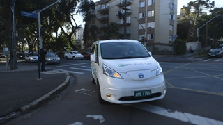Nissan's ethanol-powered electric vehicle