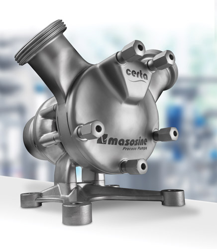 Watson-Marlow's new MasoSine Certa pump