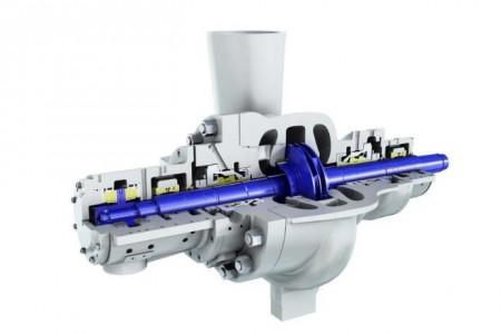 Sulzer feedwater pump