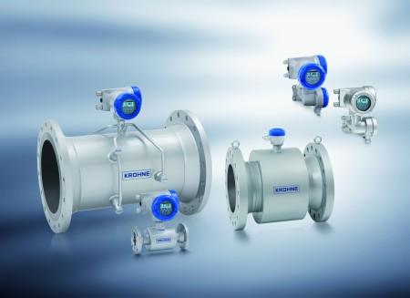 Krohne Optisonic 3400 flowmeter family
