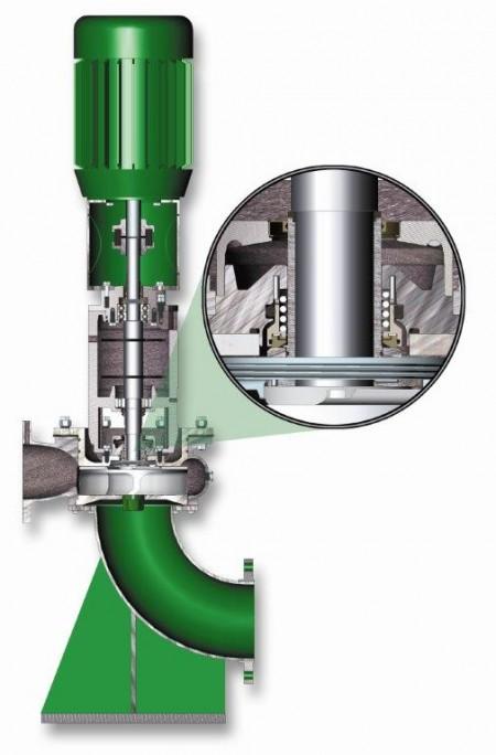 Vaughan STPE3P6 vertical pedestal pump