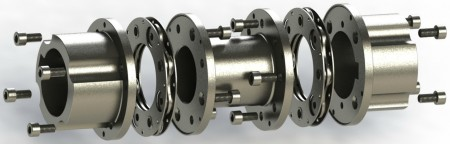 PSC's Series 57 couplings feature fully interchangeable components