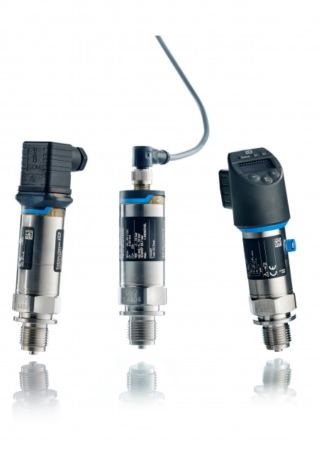 Endress+Hauser Cerabar pressure transducers handle temperatures from sub-zero to boiling