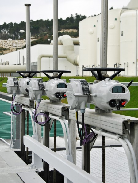 Rotork actuators have been put to work at Portugal's first MBR wastewater plant