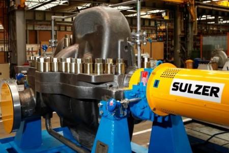 Sulzer will deliver 49 pumps to the Sohar IWP desalination plant