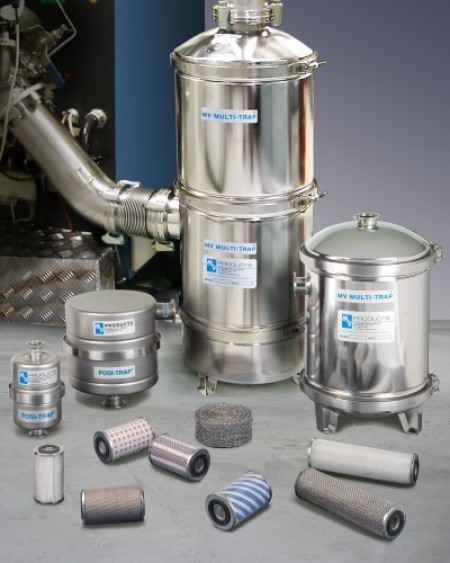 MV Products PosiTrap and Multi-Trap vacuum inlet traps are easily customisable