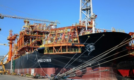The FPSO Cyrus will use Ruhrpumpen's sea water lift pumps