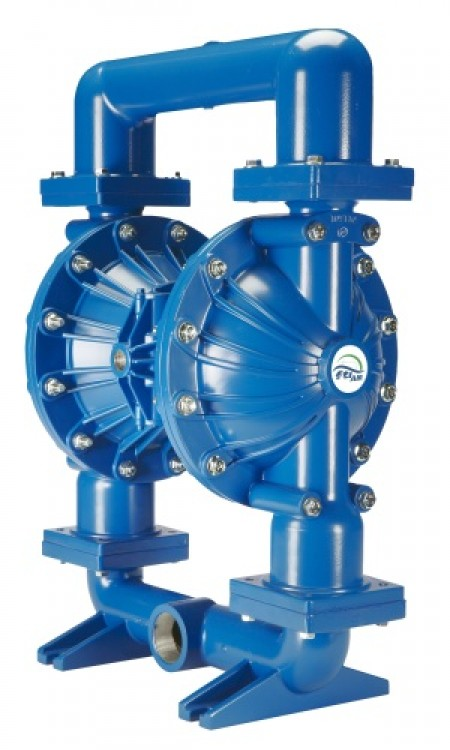 Finish Thompson's new FTI AODD pumps provide higher flow rates and pressures