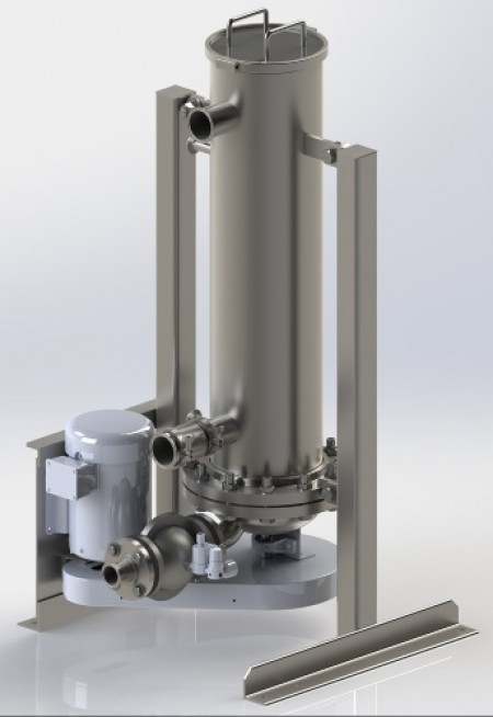 Spiral Water's S1000 filter is suitable for process and wastewater applications
