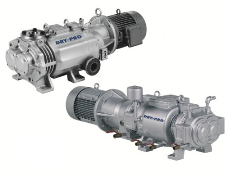 The new Nash Dry-Pro pumps are a good fit for the pharmaceutical and chemical processing industries
