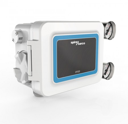 Spirax Sarco has released world's first ergonomically designed electropneumatic valve positioner