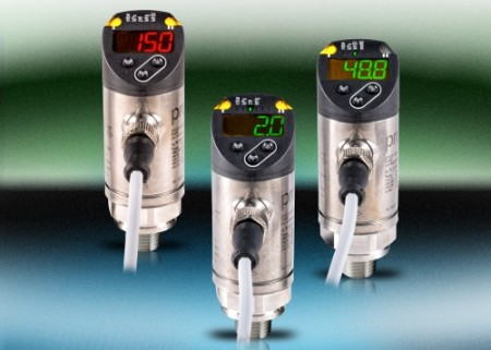 AutomationDirect's EPS series pressure sensors feature high visibility and flexible installation