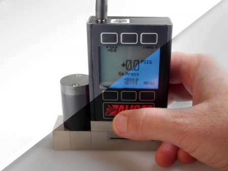 Operators can now more easily use Alicat flow and pressure instrumentation in low-light environments