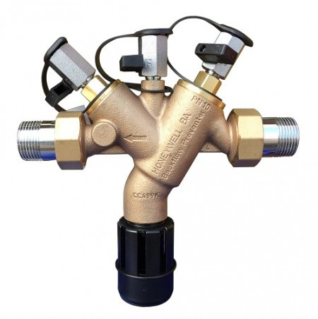 By UK law, RPZ valves must be tested once a year